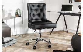 Designer Bürostuhl STUFFY BLACK