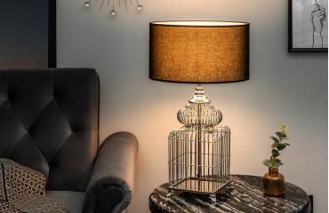Lampe de table BEE SILVER 68 cm