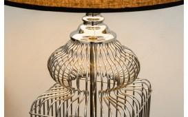 Designer Tischleuchte BEE SILVER 68 cm NATIVO™ Möbel Schweiz