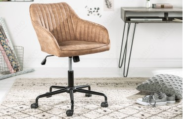 Designer Bürostuhl PIEMONT LIGHT BROWN NATIVO™ Möbel Schweiz