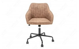 Chaise de bureau PIEMONT LIGHT BROWN