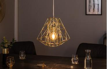 Designer Hängeleuchte CAGE S GOLD NATIVO™ Möbel Schweiz