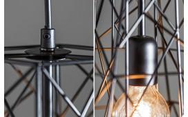 Designer Hängeleuchte CAGE SMALL BLACK I NATIVO™ Möbel Schweiz