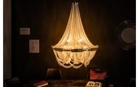 Lampadario di design QUEEN SILVER 70 cm
