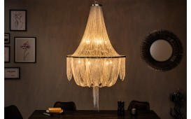Lampadario di design MAGIC SILVER 140 cm