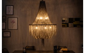 Lampadario di design MAGIC BLACK 140 cm