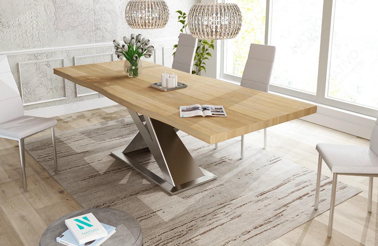 Table design AVALON v3 - NATIVO mobilier design Suisse