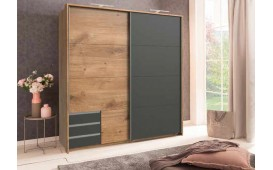 Designer Kleiderschrank DUBAI v4
