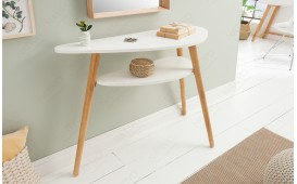 Console Design MAN WHITE 95 cm