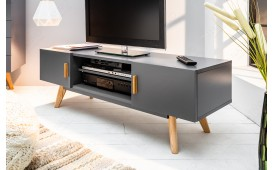 Meuble TV Design MAN GREY 120 cm