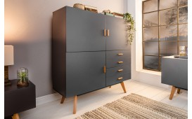 Buffet Design MAN GREY 140 cm