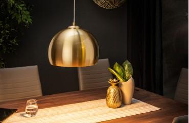 Designer Hängeleuchte GLOBE GOLD 30 cm NATIVO™ Möbel Schweiz