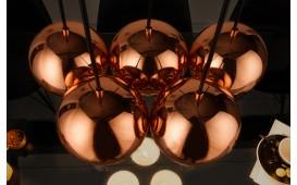 Designer Hängeleuchte PERLA 5 ROSEGOLD NATIVO™ Möbel Schweiz