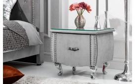 Table d'appoint Design FLOURISH GREY 45 cm