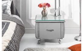 Tavolino d'appoggio di design FLOURISH GREY 45 cm