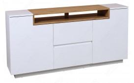 Designer Wohnwand STATE III L OAK 180 cm