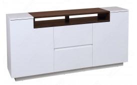 Designer Wohnwand STATE III L WALUNT 180 cm
