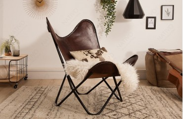 Designer Lounge Sesse ASTRA BROWN II  NATIVO™ Möbel Deutschland