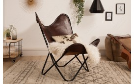 Designer Lounge Sesse ASTRA BROWN II
