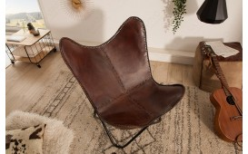 Fauteuil Lounge ASTRA BROWN II NATIVO™ Mobilier France
