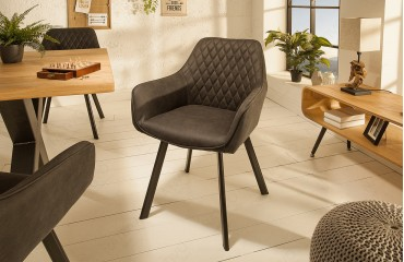 Fauteuil Lounge BIG MAN GREY NATIVO™ Mobilier France