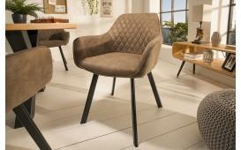 2 x Designer Lounge Sessel SICILIA BEIGE