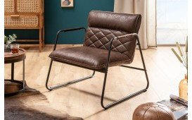 Fauteuil Lounge COLT BROWN