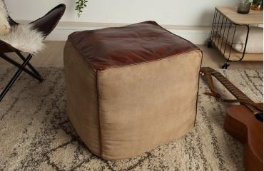Designer Sitzhocker PINTO BROWN 45 cm NATIVO™ Möbel Schweiz