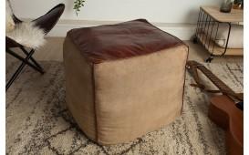 Designer Sitzhocker PINTO BROWN 45 cm