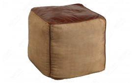 Pouf di design PINTO BROWN 45 cm