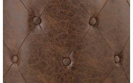 Tabouret Design CHESTERFIELD BROWN 60 cm