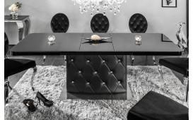 Tavolo da pranzo HERITER BLACK 160-200 cm