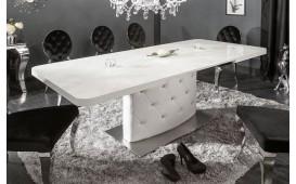 Designer Esstisch HERITER WHITE 160-200 cm