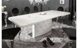 Table Design HERITER WHITE 160-200 cm