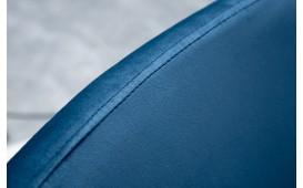 Sedia di design TORINO BLUE ROYAL CON BRACCIOLO