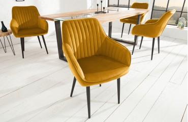 Designer Stuhl PIEMONT SENF NATIVO™ Möbel Schweiz