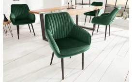 2 x Designer Stuhl PIEMONT GREEN
