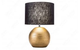 Designer Tischleuchte LUXURIOUS GOLD-BLACK 45 cm