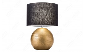 Designer Tischleuchte LUXURIOUS GOLD-BLACK 57 cm