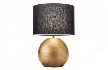 Lampada da tavolo LUXURIOUS GOLD-BLACK 57 cm