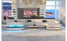 Canapé Design EXODUS XL avec éclairage LED & port USB