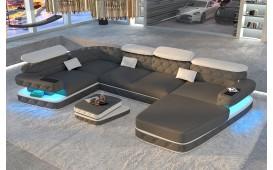 Divano di design EXODUS XL con illuminazione a LED e presa USB