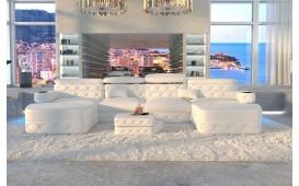 Designer Sofa EXODUS XXL DUO mit LED Beleuchtung & USB Anschluss