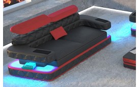 2 Sitzer Sofa EXODUS mit LED Beleuchtung & USB Anschluss