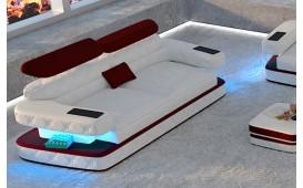 2 Sitzer Sofa EXODUS mit LED Beleuchtung & USB Anschluss NATIVO™ Möbel Schweiz