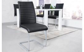 2 x Chaise Design MARTA BLACK