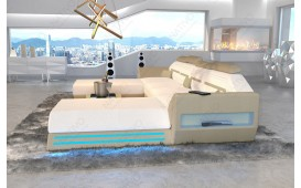 Designer Sofa AVATAR XXL DUO mit LED Beleuchtung & USB Anschluss NATIVO™ Möbel Schweiz
