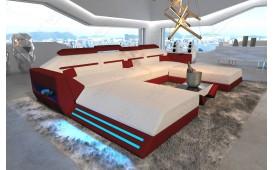 Canapé Design AVATAR XXL DUO avec éclairage LED & port USB