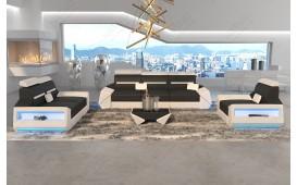Canapé Design AVATAR 3+2+1 avec éclairage LED & port USB