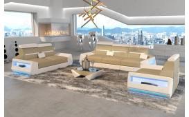 Designer Sofa AVATAR 3+2+1 mit LED Beleuchtung & USB Anschluss NATIVO™ Möbel Schweiz